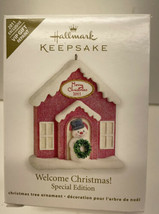 Hallmark Keepsake 2011 Welcome Christmas! Special Edition VIP Gift Repai... - $6.88