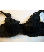WOMEN INGENUE BY SPIRI BLACK LACE UNDERWIRE BRA 34B NWT - $14.80