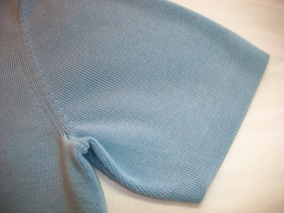 WOMEN DRESS BARN BLUE KNIT TOP L LARGE XL EXTRA LARGE