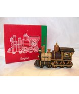 1998 Home Towne Express- Engine-JC Penney Christmas Train Collection - $4.50
