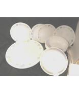 Set of Corelle 4 Dinner & 4 Dessert Plates 6 Cereal Bowls - $14.99