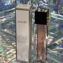 NIB Jouer Longwear Lip Creme ROSE GOLD Metallic With Matte Finish 6mL image 1