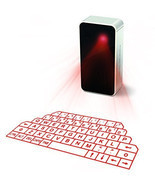 Showme® Virtual Laser Projection Keyboard for iPad iPhone 7 Android Mobi... - ₨1,876.26 INR