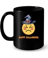 Funny Happy Halloween Witch Emoticon Ceramic Mug - $13.99+