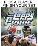 2014 Topps Prime Football Singles - Complete Your Set - We combine shipping - $0.99