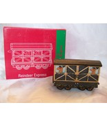 1998 Home Towne Express- Reindeer Express -JC Penney Christmas Train Col... - $4.50