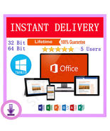 Microsoft Office Professional Plus 2016-5PCs-Official download - $74.99