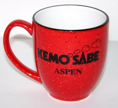 KEMO SABE Aspen Mug Cup Red by M Ware made in C... - $14.84