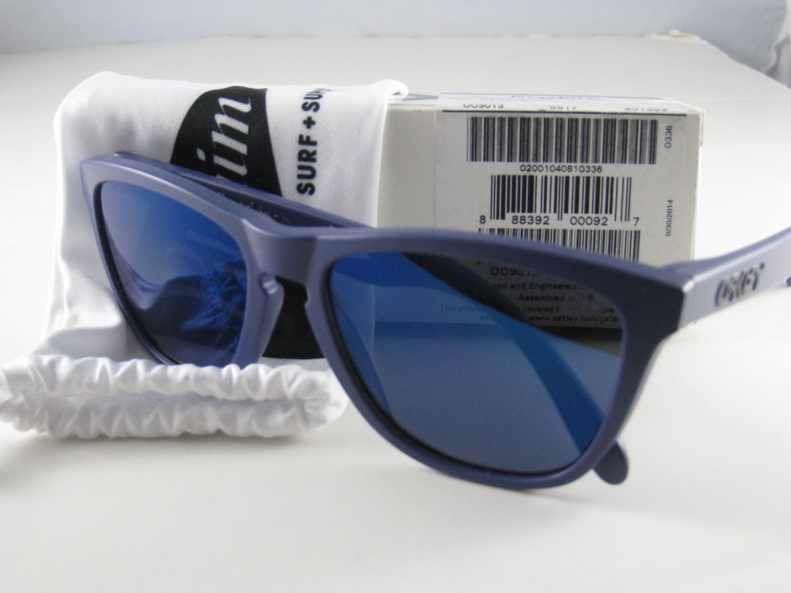 Oakley Frogskins Edición Limitada Rayos Peregrino Surf Spl Mate Azul Marino con