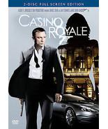 NEW 2 DVD James Bond 007 Casino Royale FULL: Daniel Craig Green Dench Mi... - $6.29