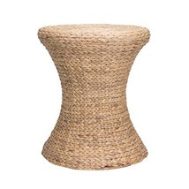 Household Essentials Hourglass Water Hyacinth Wicker Table - $148.47