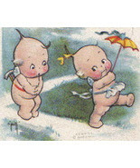 Vintage Rose ONeill Valentine's Day Postcard - Kewpies with  - $15.50