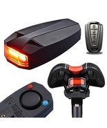 3 in 1 Bicycle Wireless Rear Light Cycling Remote Control Alarm Bike Sma... - $33.87 CAD