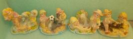 Novelty Inc Children & Sea Life Resin Figurines Set 4 #11164 UPC:0487290... - $24.75