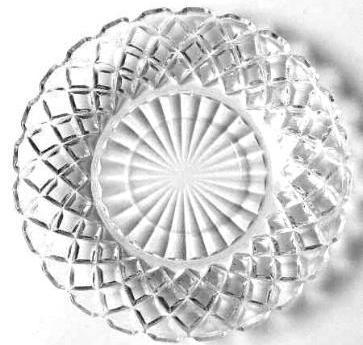 Waterford Crystal Saucer by Hocking