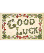 An Irish Good Luck Wish Post Card - $3.00