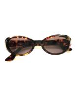 Vintage Ralph Lauren Tortoise Wraparound Sunglasses 1980's - $30.00
