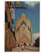 1965 - Grundtvig's Church, Bispebjerg, Copenhagen, Denmark - Used - $4.99