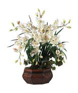 Large Cymbidium Silk Flower Arrangement - $157.27