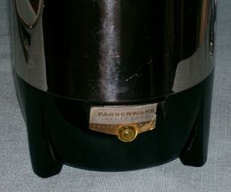 Vintage Farberware Superfast 12 Cup Percolator Coffee Pot 122 Automatic New York image 10