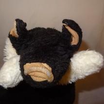 "Pig Black White Plush Hand Puppet 11""  Long  Stuffed Animal Toy Nasco USA  - $26.30"