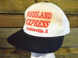WOODLAND EXPRESS Coulterville IL Adjustable Hat Adult Cap - $1.97