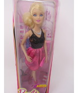 Barbie Fashionistas Doll in Pink and Black Puffer Dress - $24.99