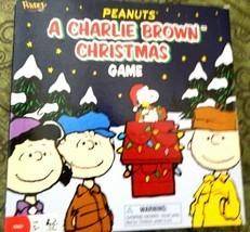 Peanuts A Charlie Brown Christmas Board Game, 2007 Sababa Toys - $18.00