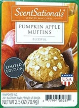 ScentSationals Pumpkin Apple Muffins Scented Wax Cubes - £7.81 GBP