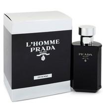 Prada L'Homme Prada Intense 1.7 Oz Eau De Parfum Cologne Spray  image 6