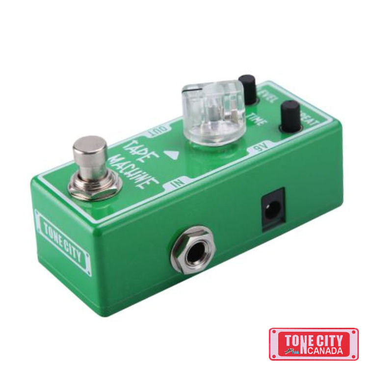 Primary image for Tone City Tape Machine Delay TC-T4 Effect Pedal Micro as Mooer True Bypass