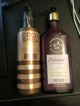 Bath & Body Works Aromatherapy  PATCHOULI & COCO SHEA Coconut Body Lotio... - $27.00