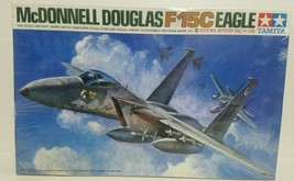 Tamiya McDonnell Douglas F-15C Eagle 1/48 Scale Model Kit Aircraft #6102... - $38.79
