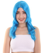 Party Girl Adult Wig | Blue Cosplay Wig HW-592 - $31.85