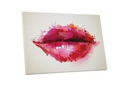 "Pingo World 1222PE8IEDM ""Pop Painted Lips"" Gallery Wrapped Canvas Art, 3... - $53.41"