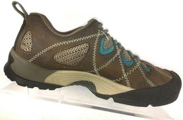Keen Dry Brown Leather Hiking Shoe Casual Sneaker Womens  7.5 M - $50.82