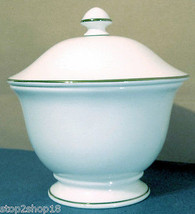 Lenox Continental Dining Gold Sugar Bowl With Lid New - $29.90