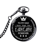 LibbyPet Pocket Watch to My Dad Gifts from Daughter to Dad for Father's ... - $19.01