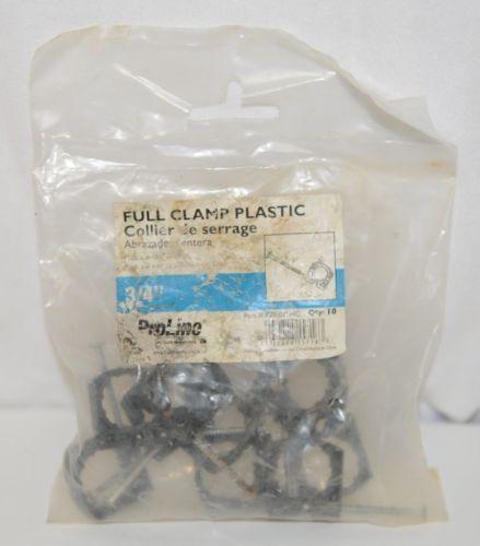 Mueller Pro Line P25075HC Full Pipe Clamp Plastic Nail Three Quarter Inch 10