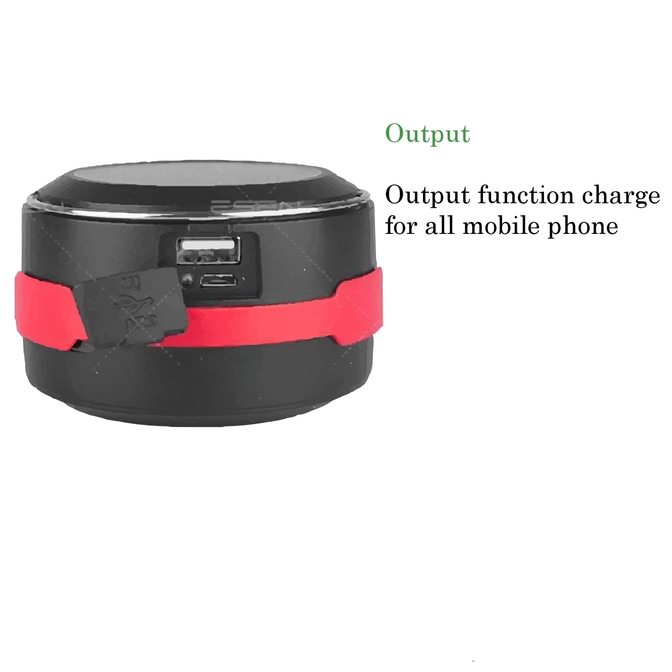 Rechargeable LED Camping Lantern & Flash Light with Solar Charge For Emergency