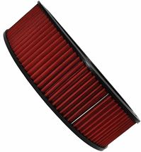 """HIGH FLOW WASHABLE & REUSABLE ROUND AIR FILTER ELEMENT REPLACEMENT 14"""" X 4"""" RED image 9"""