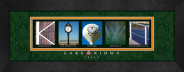 Lake Kiowa, Texas Framed Letter Art - $39.95