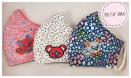 KID FACE MASK/Cheapest Deal Mask For KIDS Floral Mask HIGH QUALITY FAST ... - $7.43
