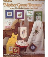 Mother Goose Treasury Nursery Rhymes Counted Cross Stitch Pattern Leafle... - $1.77