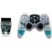 dreamGEAR DGPN-524 Lava Glow Wireless Controller for PlayStation2 (Blue) - $38.26