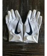 Nike Penn State Nittany Lions Receiver Gloves Vapor Knit NFL Football Si... - $68.81
