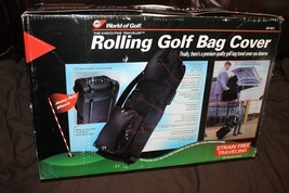 JEF World of Golf Executive Traveler Rolling Golf Clubs Bag Cover Travel... - $47.03