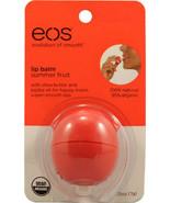 EOS Smooth Lip Balm Sphere Summer Fruit Vitamin E Shea Butter Natural OR... - $9.99