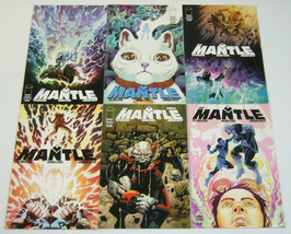 the Mantle #1-5 VF/NM complete series + phil hester variant - ed brisson... - $9.99