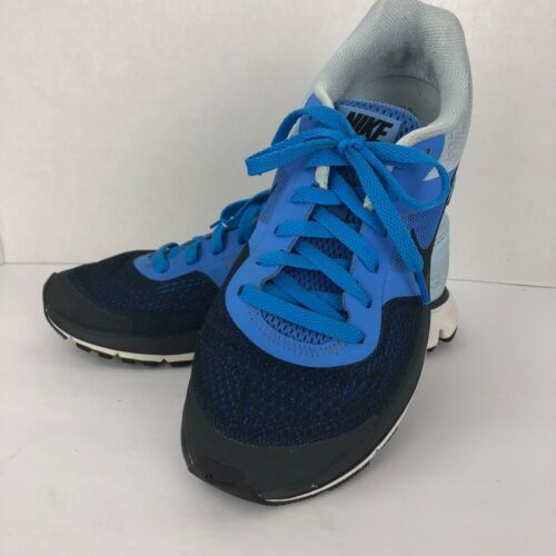 NIKE Pegasus 3D Fitsole Running Sneakers Blue Size 9 M Lace Up 599392-400
